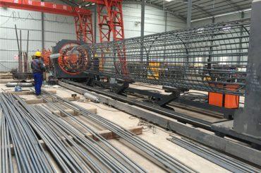 Buhayê firotina herî baş ya pîşesaziya germê ya welded, pîvana hêza cage seam welder di navbera 500-2000mm