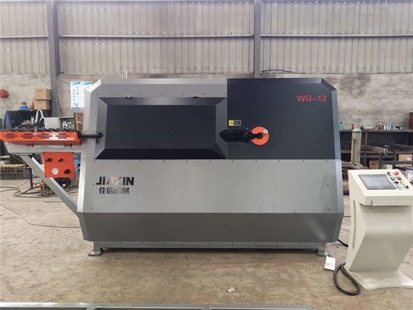 China manufacturer 4-12mm automated cnc wire wire, the machine rending the rebar