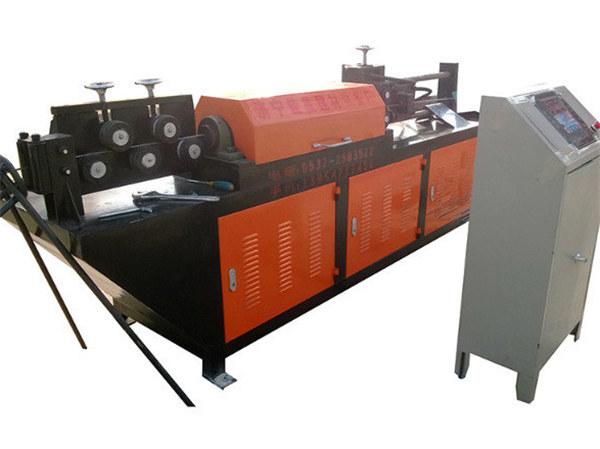 GT4-14 wire rod rebar straightening and machine machine