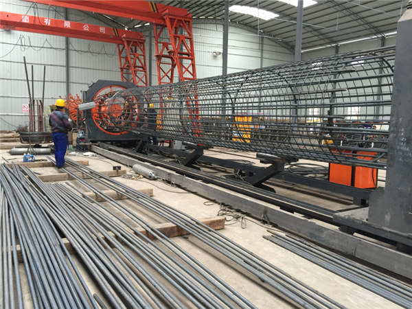 Made in China Çapemeniya Simple Simple Durable and Strength Quality assurance steel rebar cage welding and strengthening cage strengthening